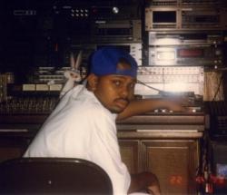 DJ Screw in the studio