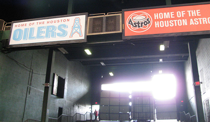 Astrodome old signs