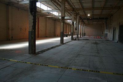 new DNA crime lab space