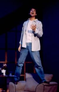Dylan Ryan singing on stage
