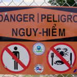 Local grassroots organizations are once again urging the public not to swim or fish this summer in a part of the San Jacinto River that used to be paper mill waste pits They say efforts to clean up that part of the river have failed and the area should be off limits to the public.