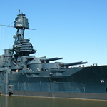 Crews are working to repair a leak in the historic Battleship Texas located in the Houston Ship Channel. The ship is nearly 100 years old and caretakers say problems are bound to happen.