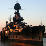 The Battleship Texas reopens to visitors now that crews have fixed a leak that threatened the 100-year-old vessel. But more work is needed to preserve the ship for future generations.