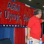 Today, we go to the George R. Brown Convention Centerto see somekids with big dreams. Thousands of young athletes are representing themselves in the AAU Junior Olympics here in Houston.