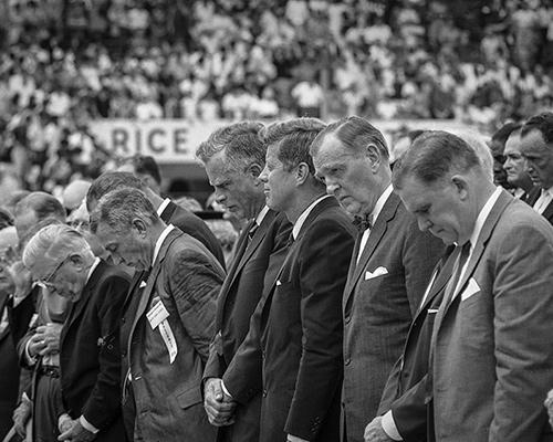 JFK druing convocation