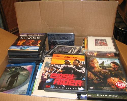 DVDs from R. Allen Stanford's Virgin Island Estate