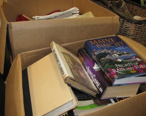 Books from R. Allen Stanford's Virgin Island Estate