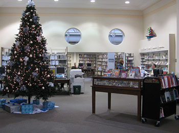 Heights Library inside
