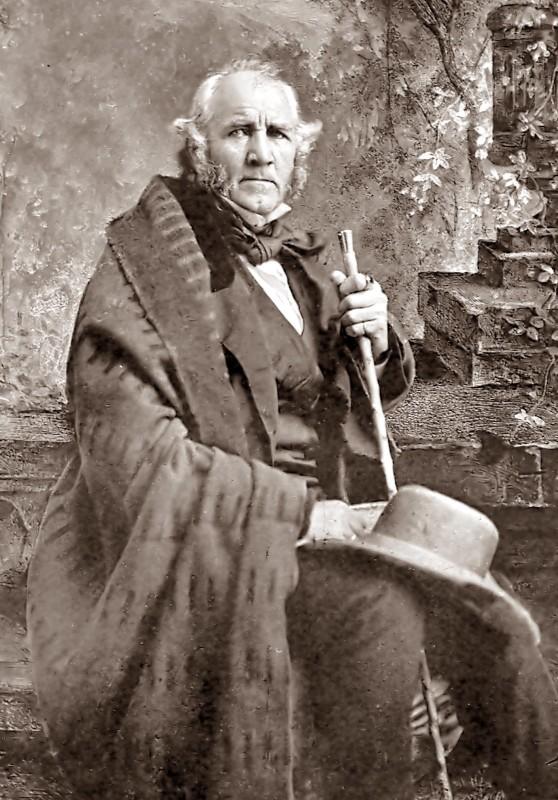 Portrait of General Sam Houston