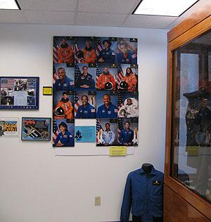 Astronauts display