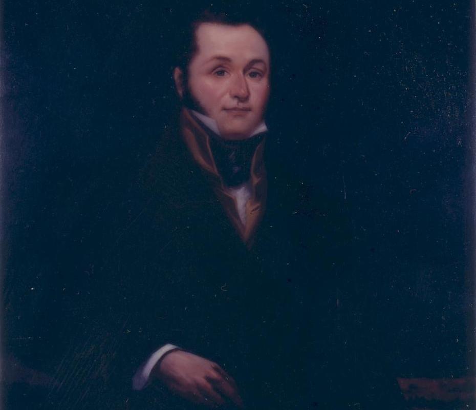 Portrait of Lorenzo de Zavala