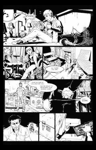 Zach Martin comic