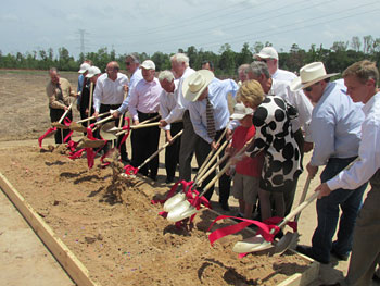 State and local government officials break ground on Grand Parkway expansion