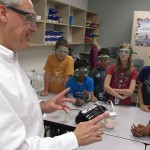 "In schools and the workforce, there are more calls to improve education in the fields of science, technology, engineering and math. These fields are collectively known as ""STEM."" At an elementary school in Katy, one science professional is working with teachers and students to improve STEM education there."