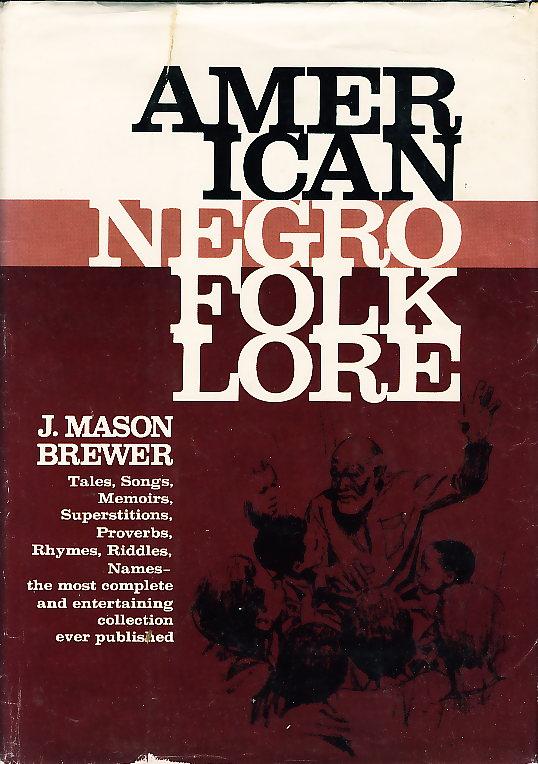 Dust jacket of American Negro Folklore