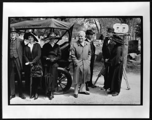 Horton Foote on 1918 set