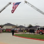 Hundreds gathered at a West Houston church Friday to bid farewell to Houston Fire Department Captain Dwight Bazile. The veteran firefighter died after suffering a heart attack while responding to a fire.