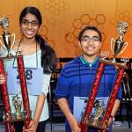 It's the third time Shobha Dasari wins as co-champion. For Siddharth Krishnakumar, it's a brand new title.
