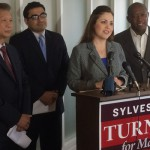 State Representative and Houston mayoral candidate Sylvester Turner announced the endorsements of three Houston-area lawmakers Friday. He hopes it will increase his appeal to the city's Latino voters.