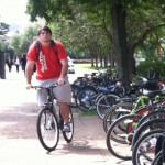 The University hosted Bike to UH Day on Friday. It's part of a larger effort to encourage alternative modes of transport throughout the community.