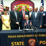 Governor Greg Abbott visited Houston on Tuesday to sign legislation to strengthen border security.