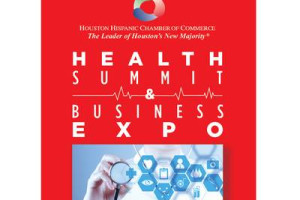 graphic of expo flyer