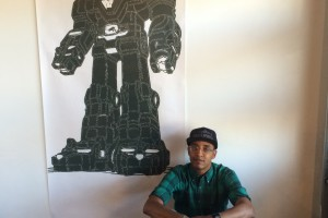 Houston Artist Pays Tribute to Black Panther Party With 1980s Cartoons