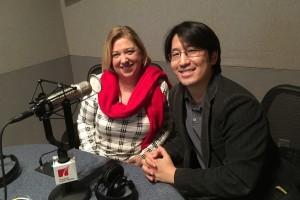 Opera in the Heights stage director Lynda Keith McKnight and music director Eiki Isomura