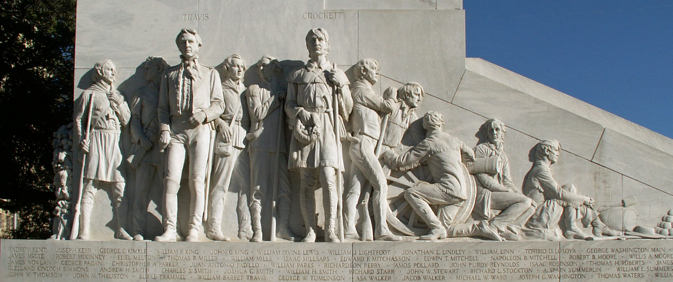 Cenotaph of the Alamo defenders