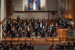 River Oaks Chamber Orchestra at the Church of St. John the Divine.