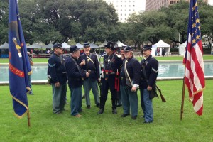 Houston Veterans Honored With Ceremony, Parade