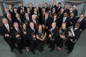 photo of Houston Brass Band members