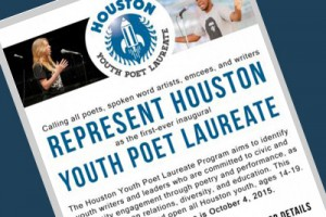 HSPVA Senior Is Houston's First Youth Poet Laureate