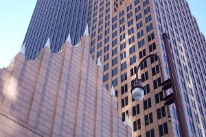 the Bank of America Center building