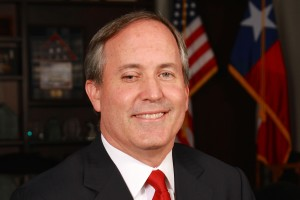 portrait of Texas Attorney General Ken Paxton
