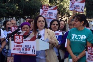 Immigration Activists Commemorate One Year of Expanded DACA And DAPA Announcement