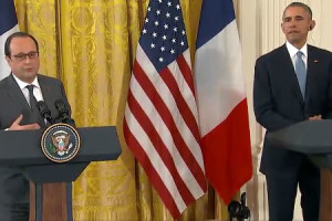 VIDEO: US, France Pledge Unity Combatting Terrorism