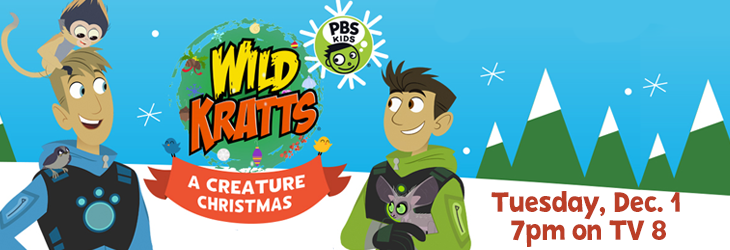 Wild Kratts holiday special primetime premiere!