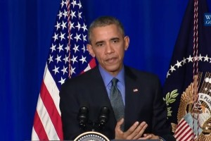 Obama Says Parts Of Climate Deal Must Be Legally Binding